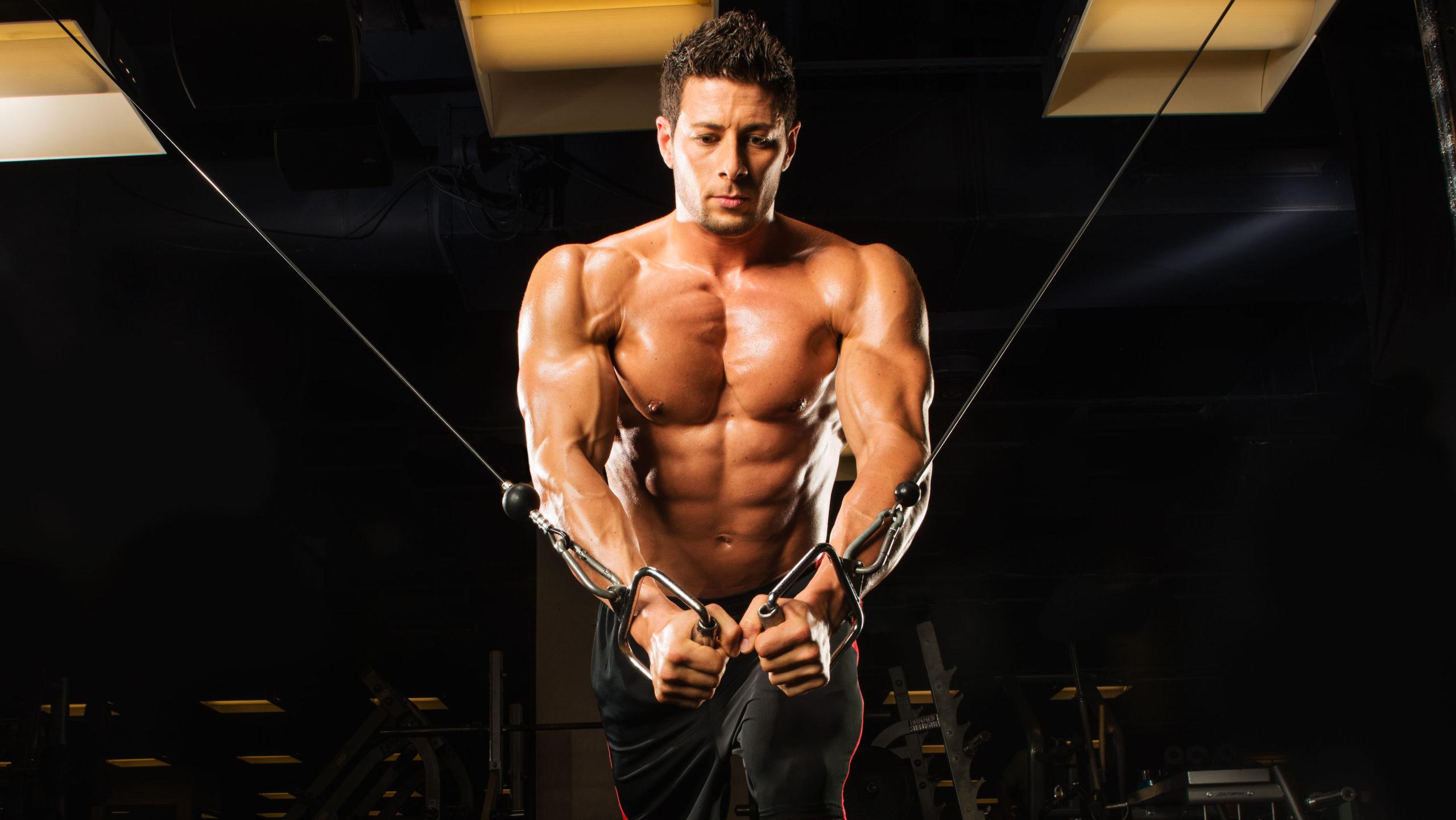 Тренировка мышцы груди в домашних условиях на растяжение.